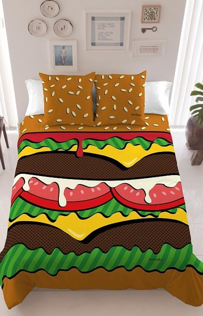 Burger Bedding