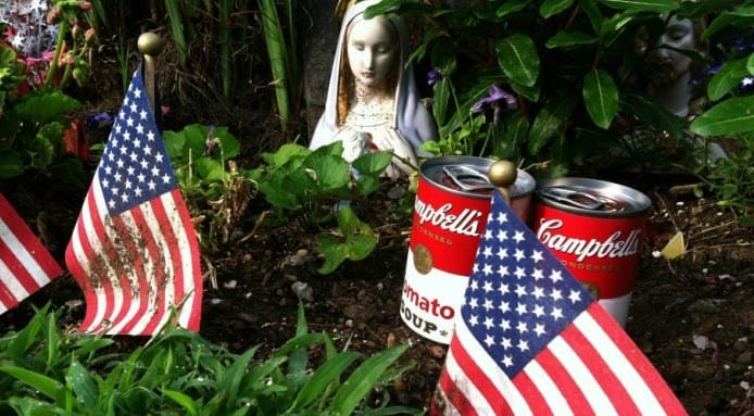 Andy Warhol Tomb Art | Campbell's Soup