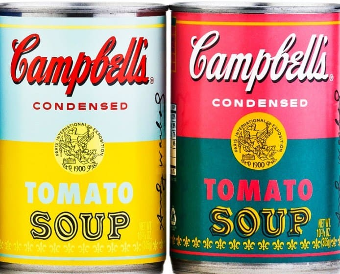 Campbell's Soup | Yellow and Red