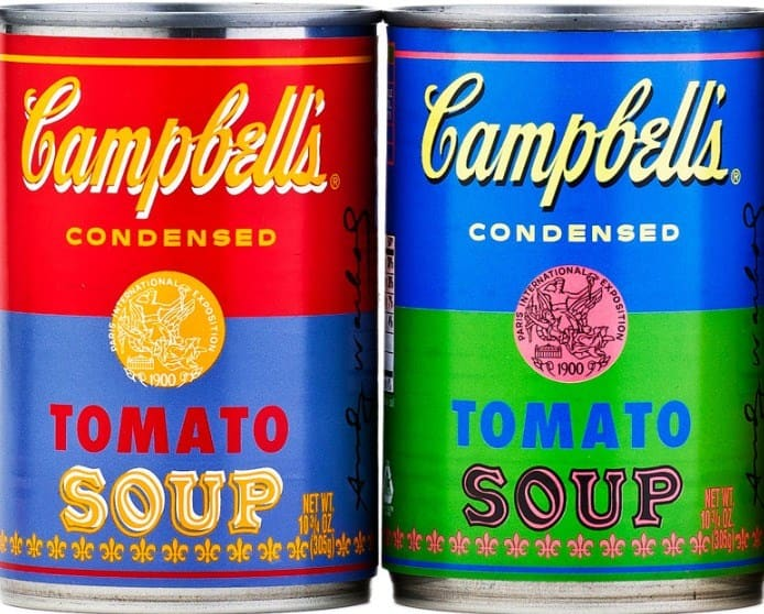 Campbell's Soup | Blue and Green