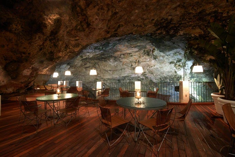 The Cave Restaurant in Italy | Grotta Palazzese
