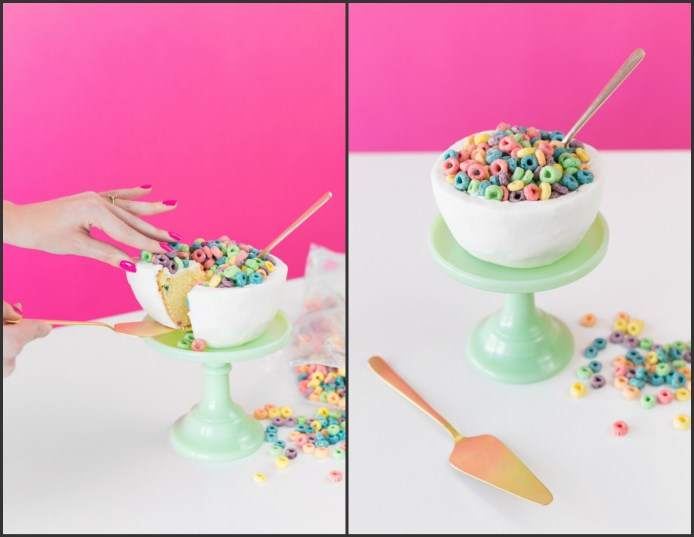 Cereal Bowl cake