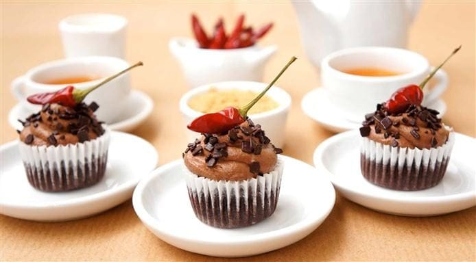 Brunch | Choc Chili Cupcakes