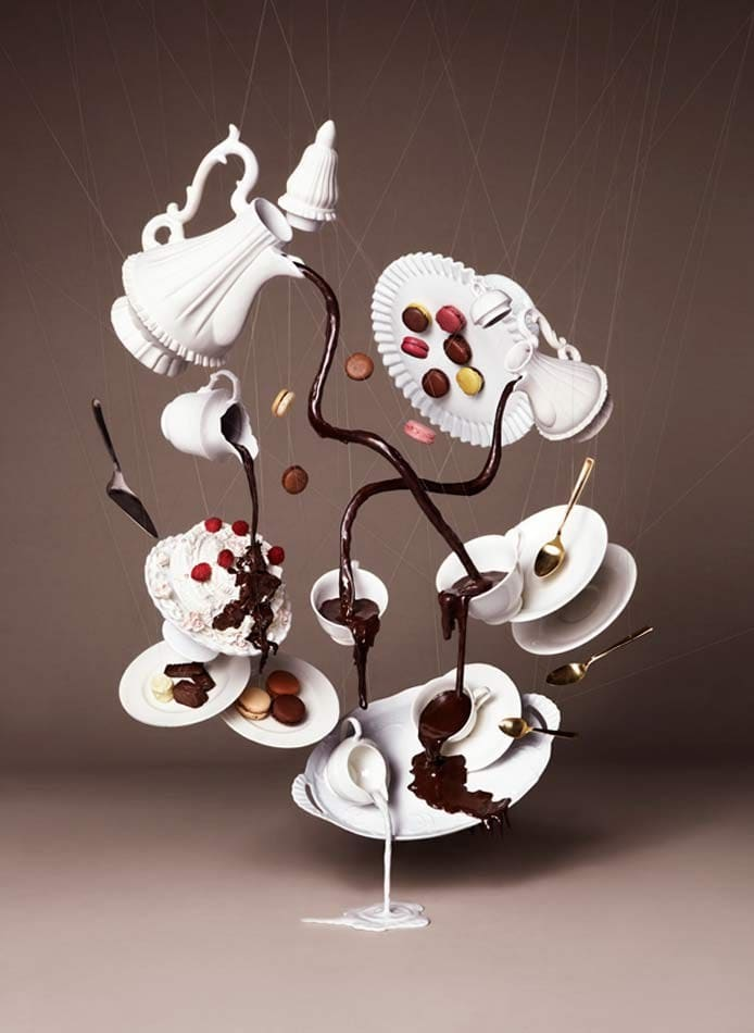 Chocolate Art Installation by Nam