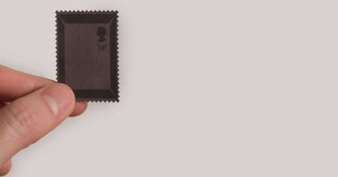Chocolate Flavoured Stamp by Toby Ng