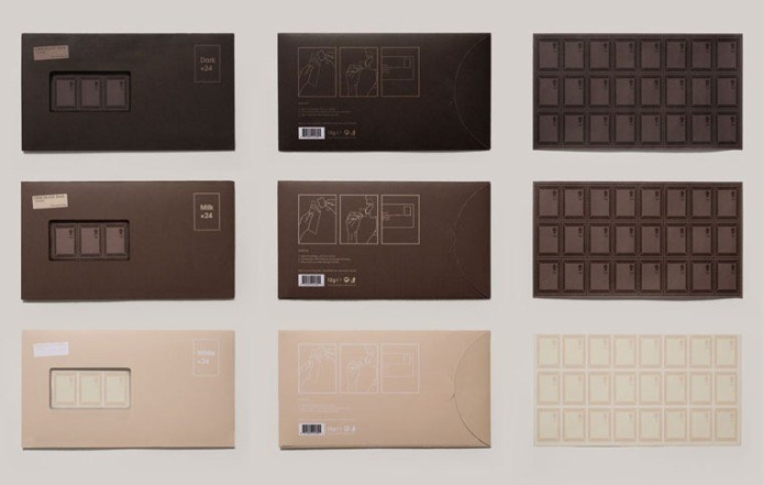 Chocolate Flavoured Stamps by Toby Ng