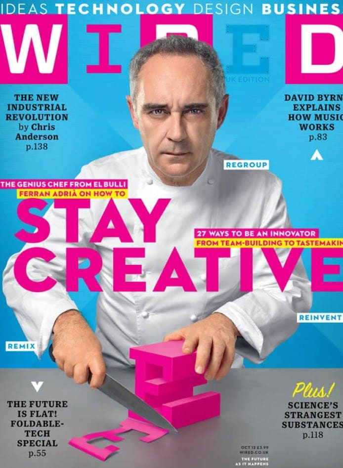 Ferran Adria | Wired Cover