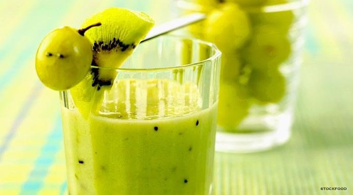 grape and kiwi smoothie