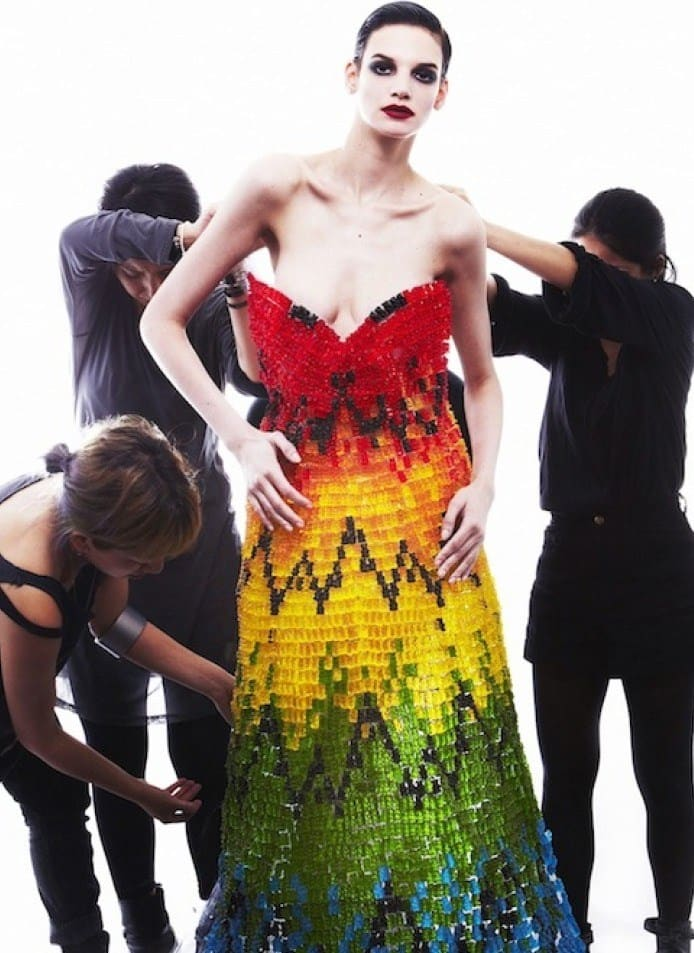 Edible Couture | Gummy Bear Dress