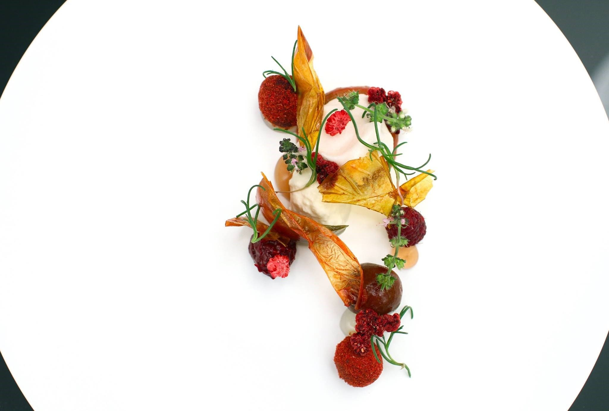 heirloom-tomato-raspberry-burrata-clobe-basil-grace