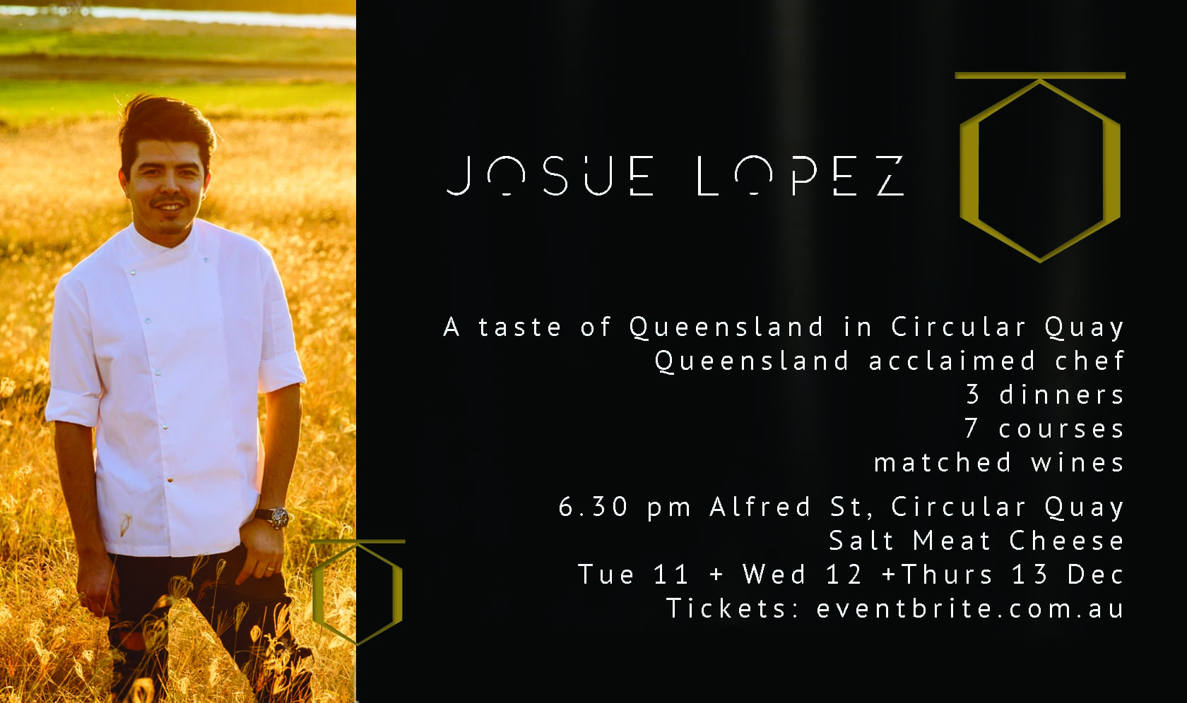 Josue Lopez at Circular Quay