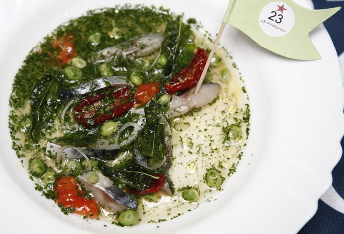 S.Pellegrino Cooking Cup 2012 | Israel, dish by David Frenkel