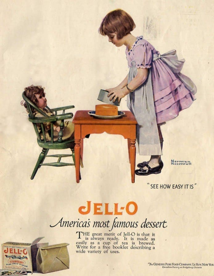 Jell-O | Norman Rockwell