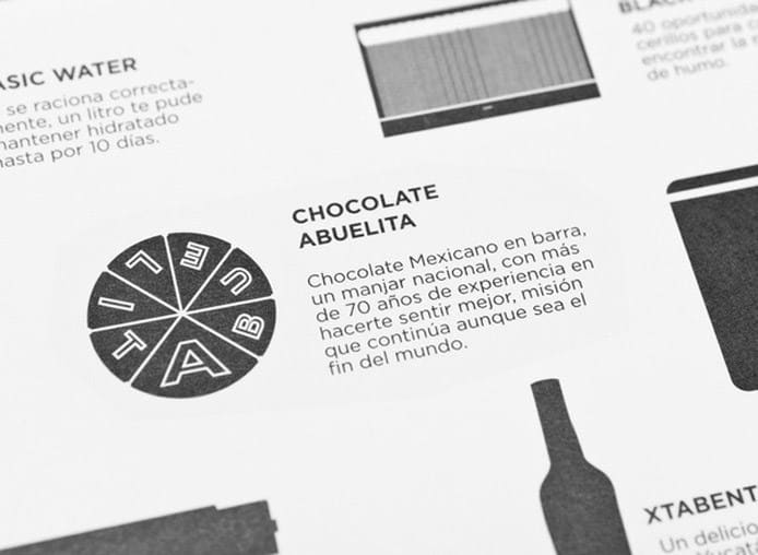 Foodie Survivor Kit | Chocolate Instructions