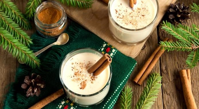 Puerto Rican Christmas Food | Coquito