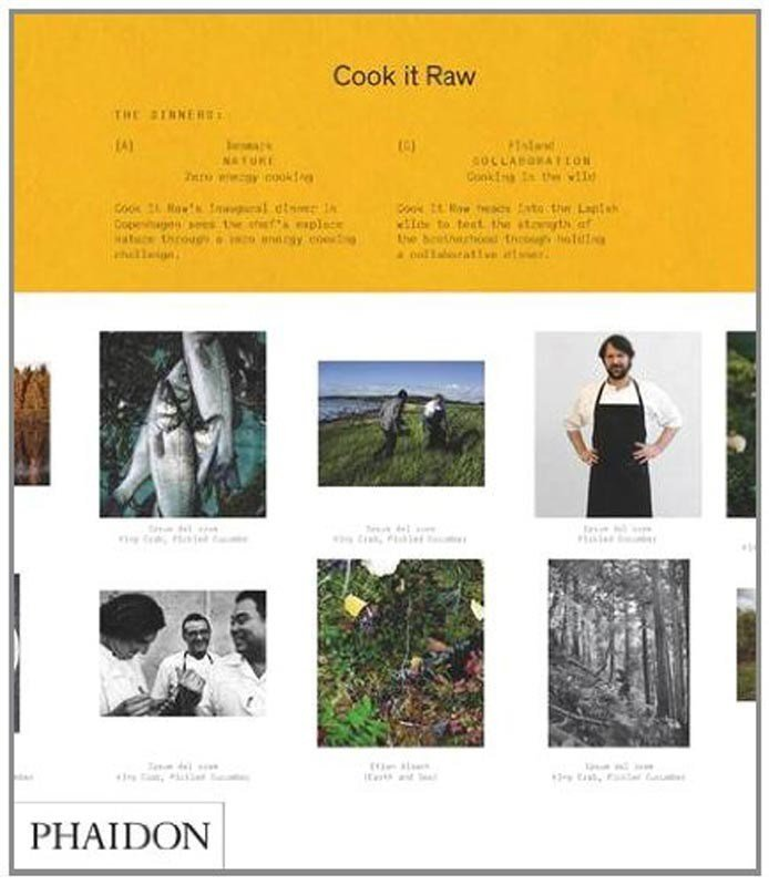 Cook It Raw Cookbook Page