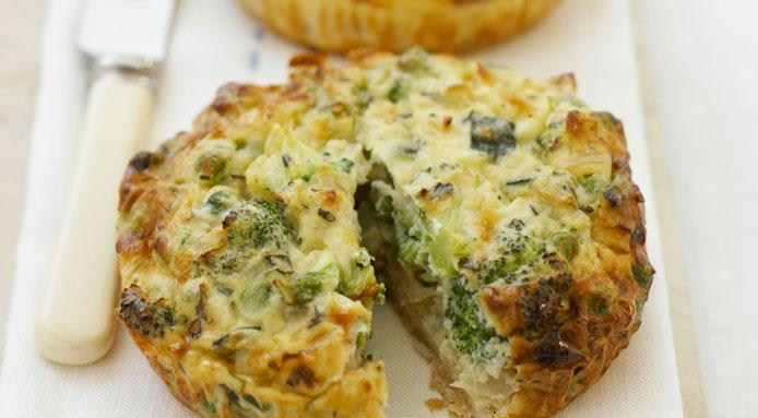 Quiche | Mini Broccoli