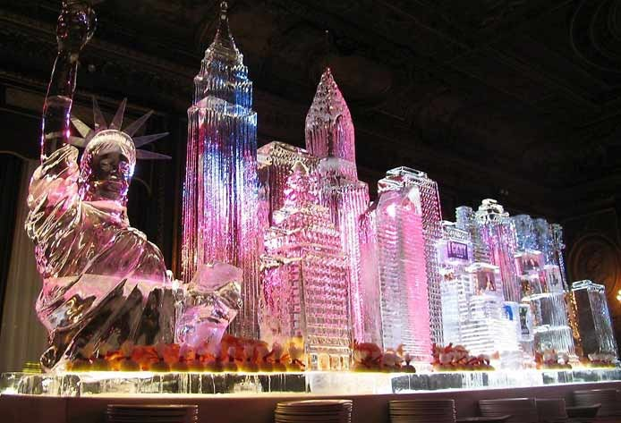 Ice Sculptures | New York by Takeo Okamoto