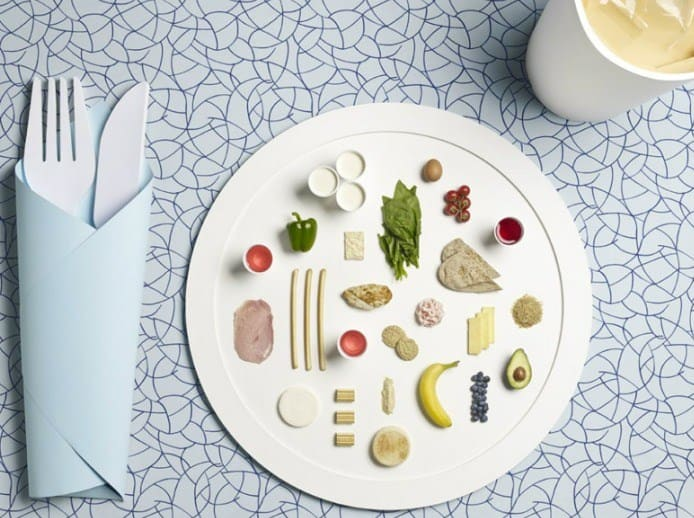 Tiny Olympic Food | Patterned