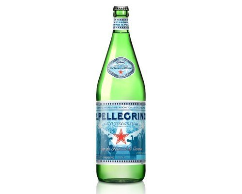 Cannes S.Pellegrino Bottle