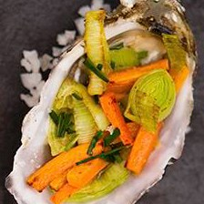 Oysters With Vegetable Stuffing