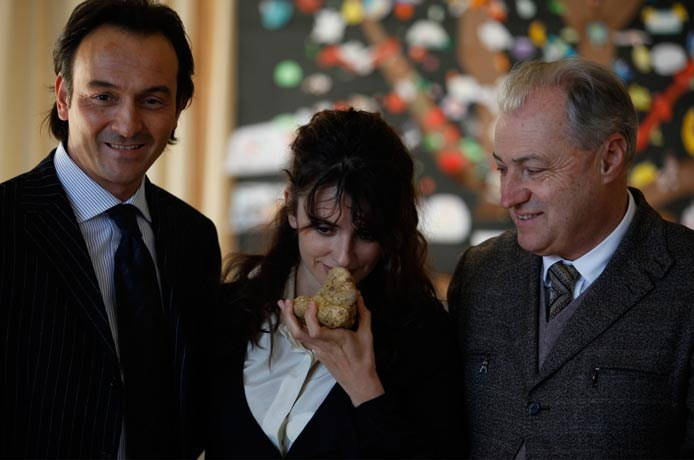 Penelope Cruz And Truffles