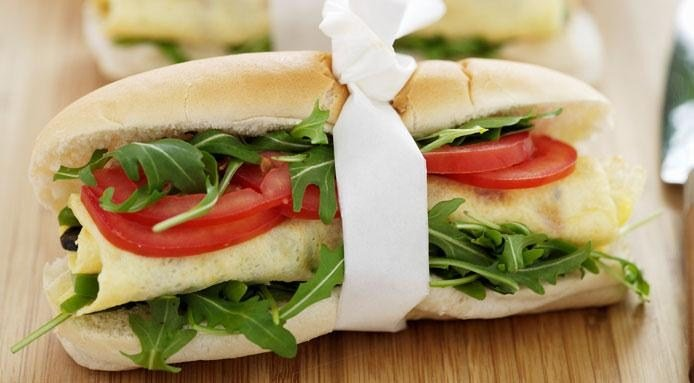 Lunch | Rocket Sandwich
