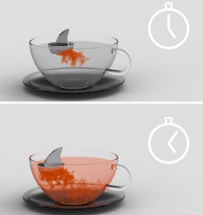 Shark Tea Infuser | Cups