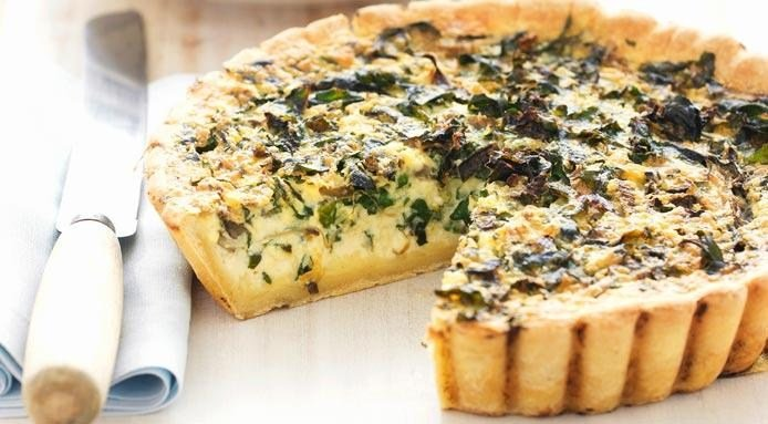 Quiche | Spinach