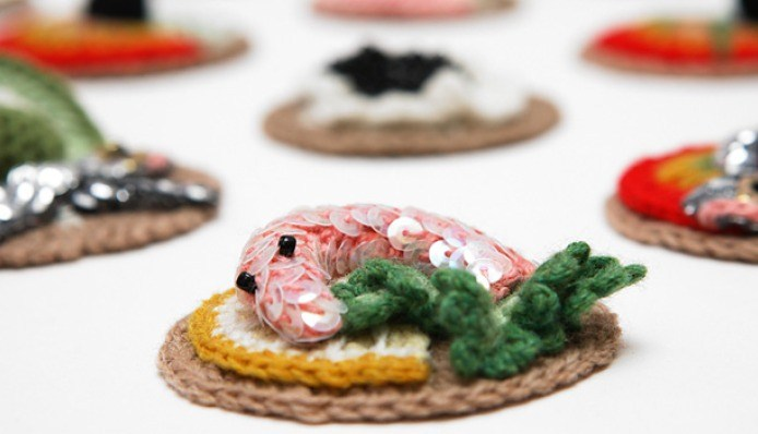 Stitched Fish | Canapes
