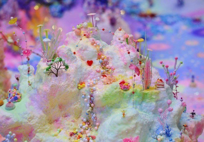 Sugar Art | Flourescent