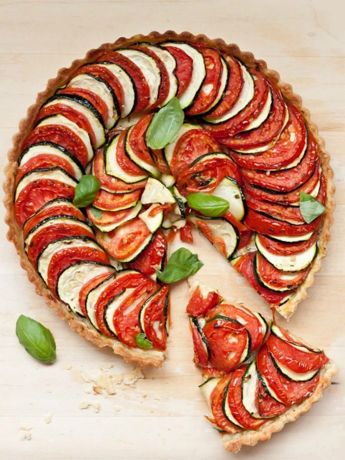 tomato_zucchini_tart_cooked _Blogging over Thyme