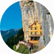Cliff Restaurant Switzerland