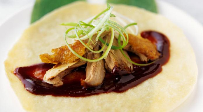 Crispy Peking Duck With Pancakes
