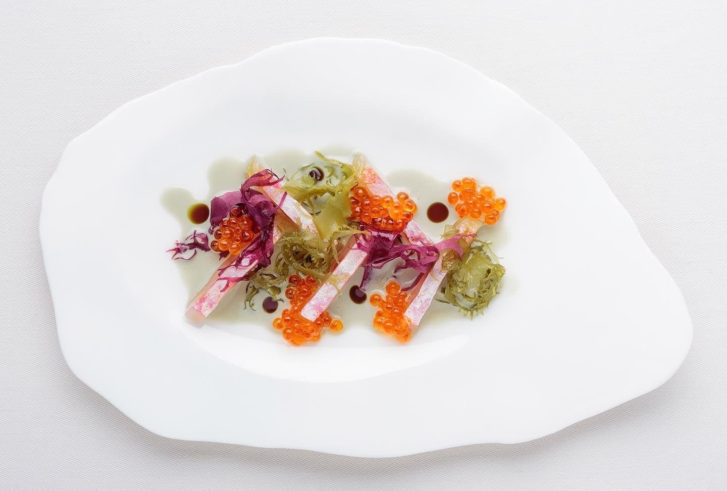 Belcanto Evolution Menu | Cured Red Mullet