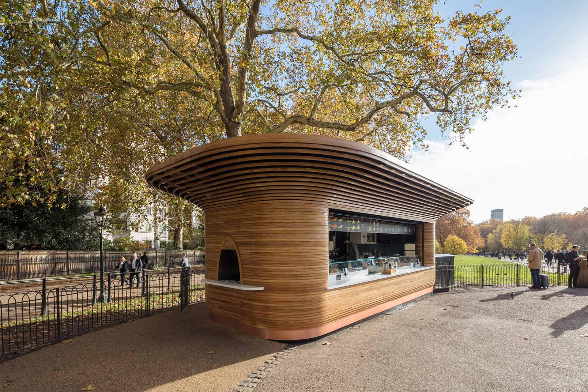Colicci Kiosk in London, UK