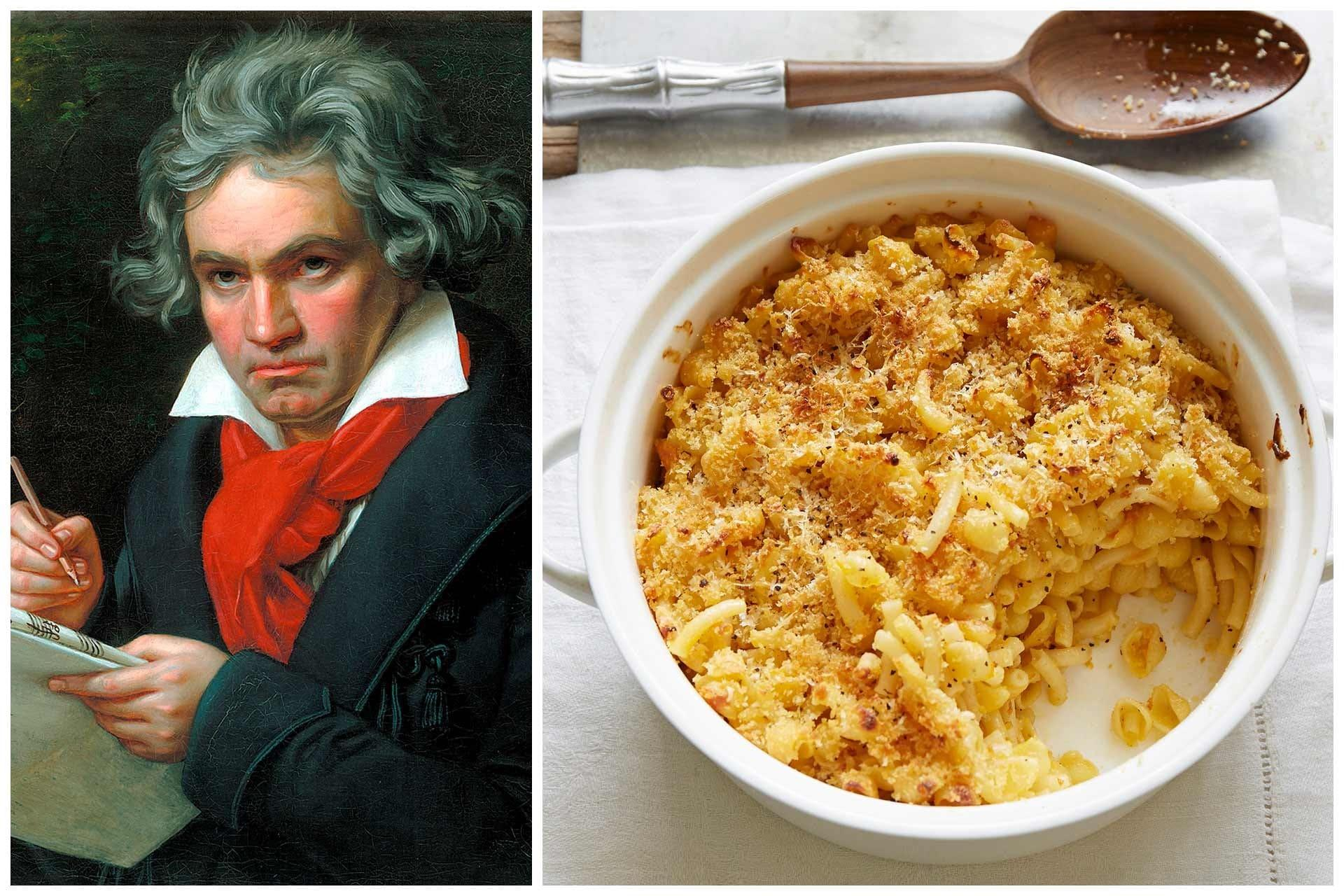 Beethoven's favourite dish