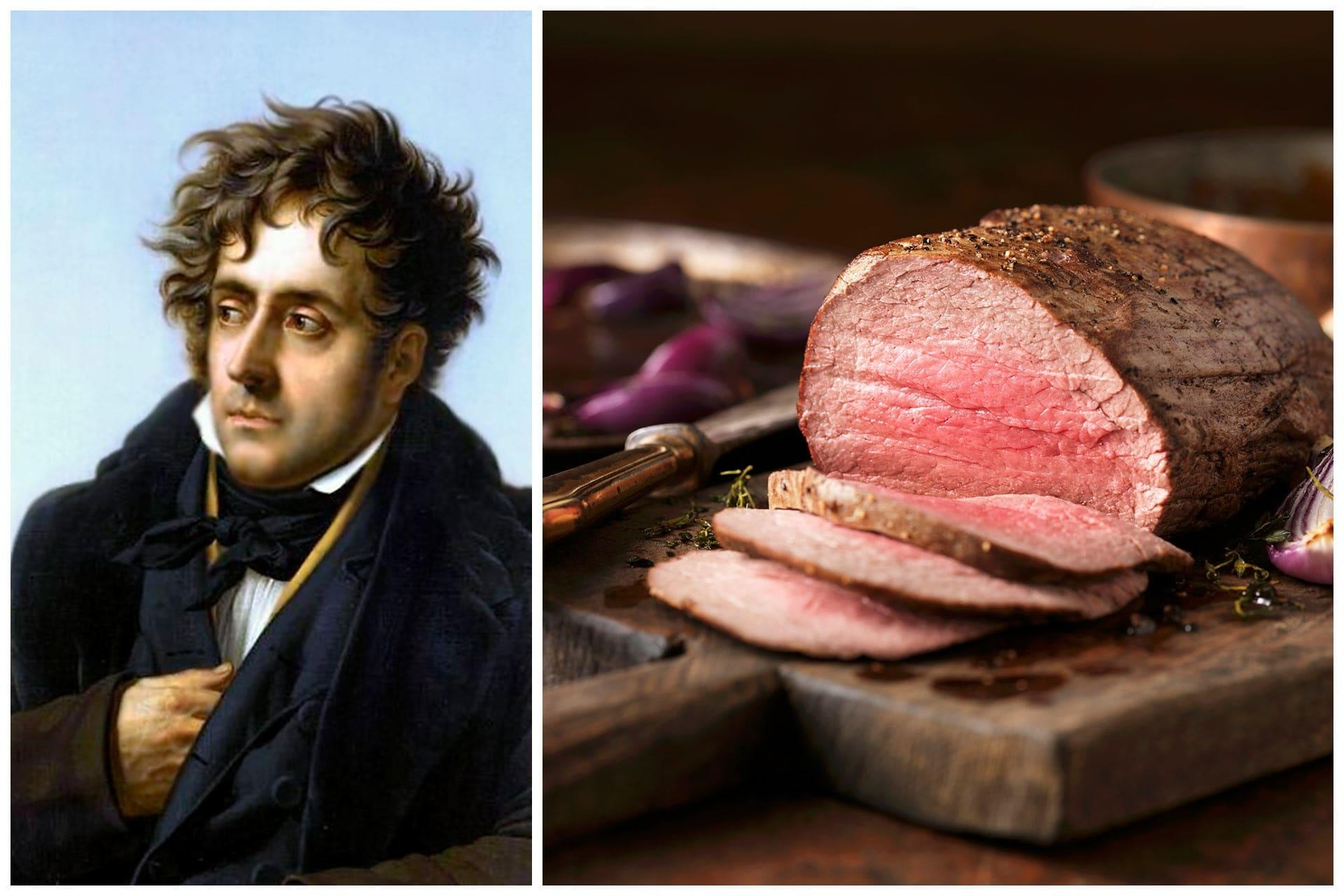 Chateaubriand's favourite dish