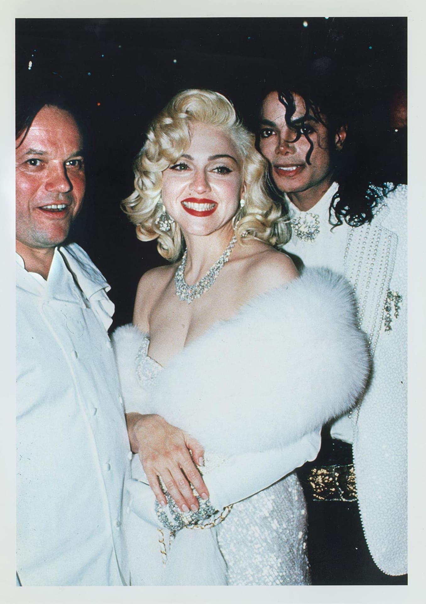 Puck, Madonna and Michael Jackson