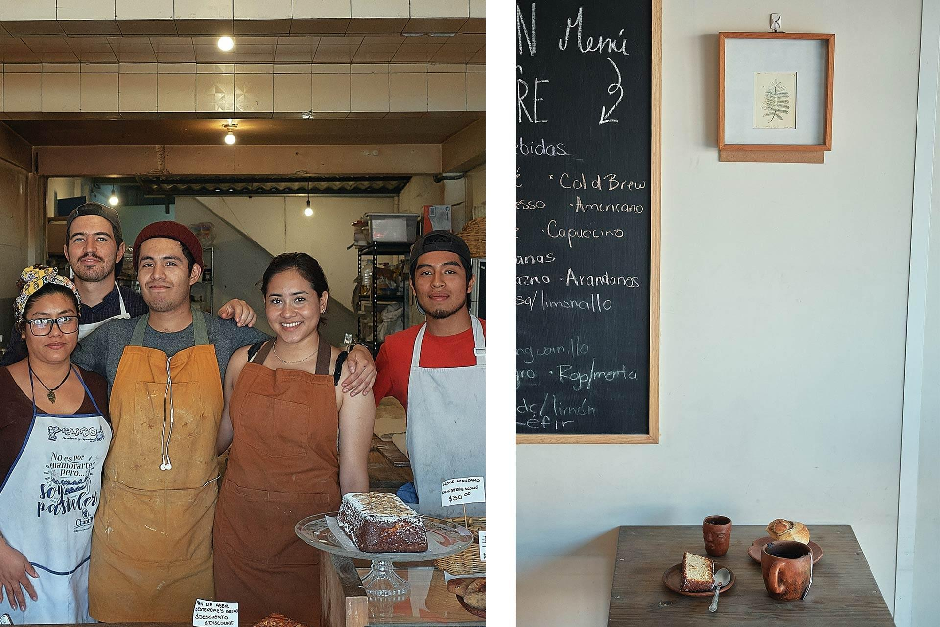 Pan con Madre Oaxaca