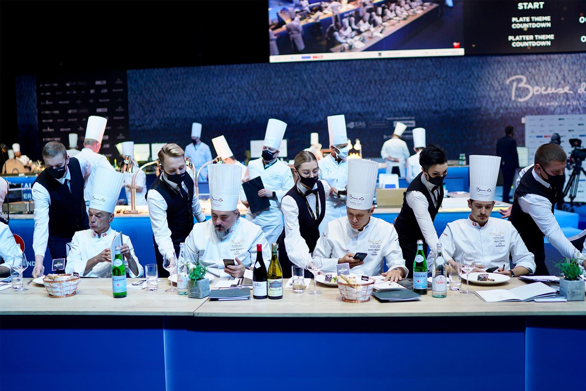 The second day of Bocuse d'Or 2020 Europe
