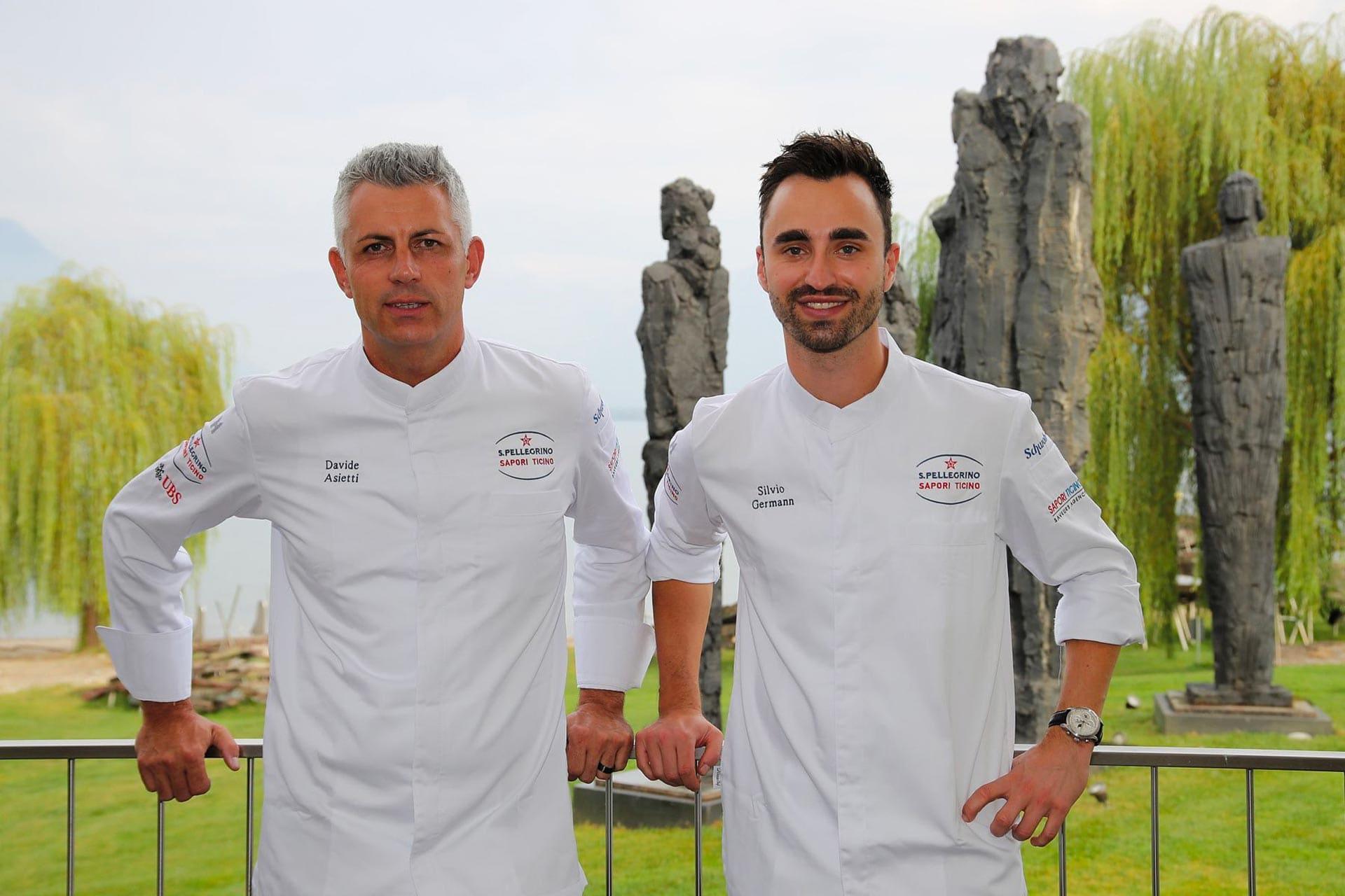 Chef Silvio Germann Davide Asietti