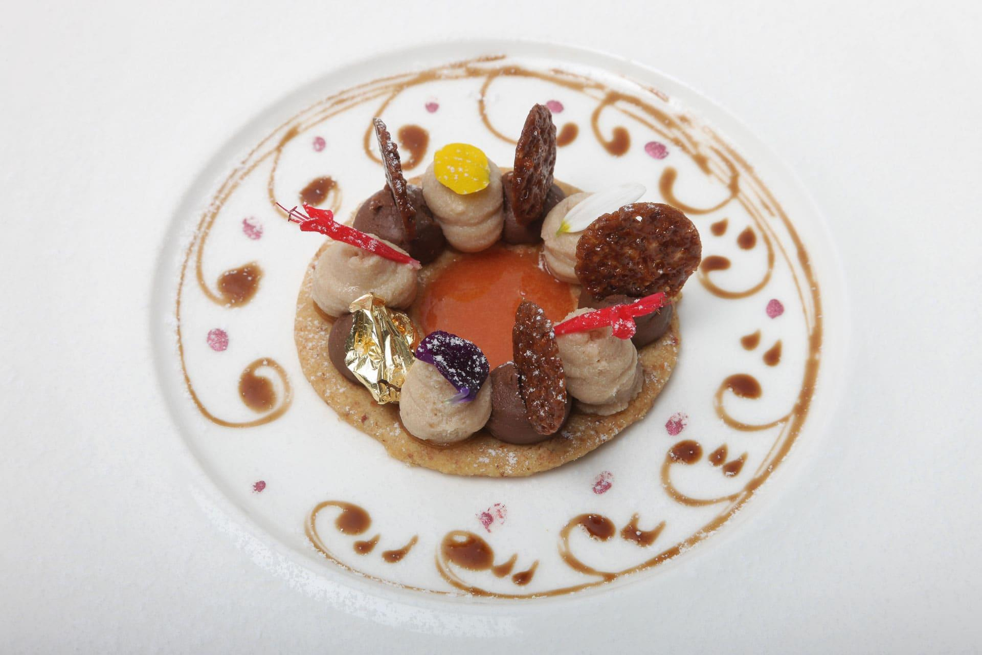 Piatto di un chef Ticinese
