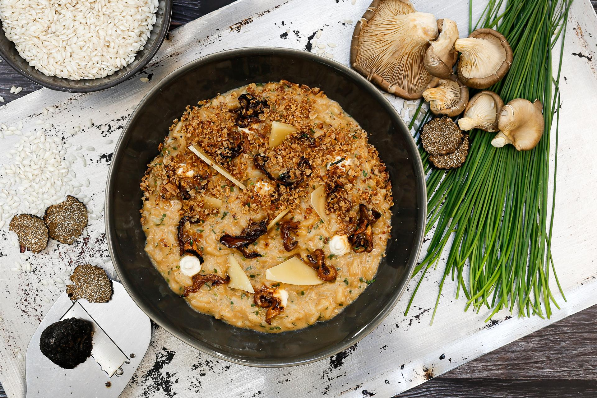 Boca Porcini & Oyster Mushroom Risotto