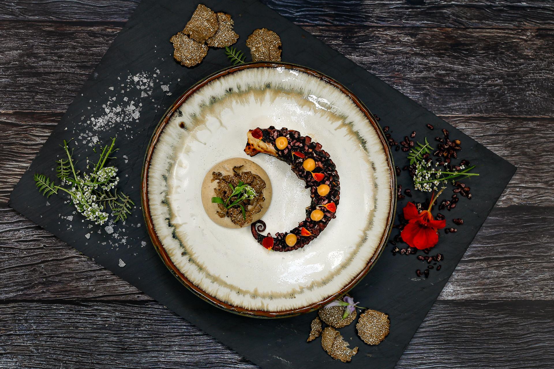 Boca Grilled Octopus