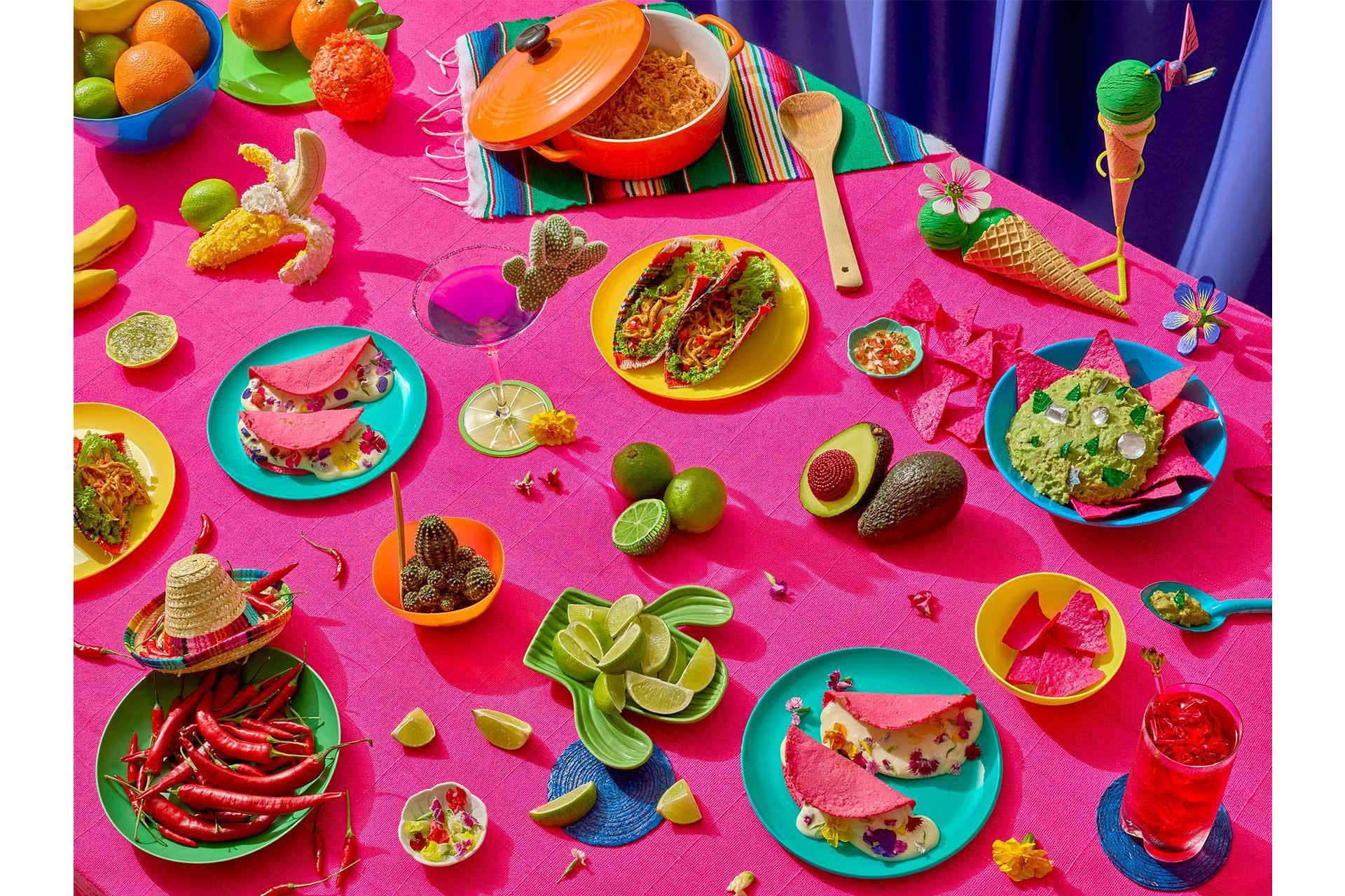 Pink Meal Paloma Rincon