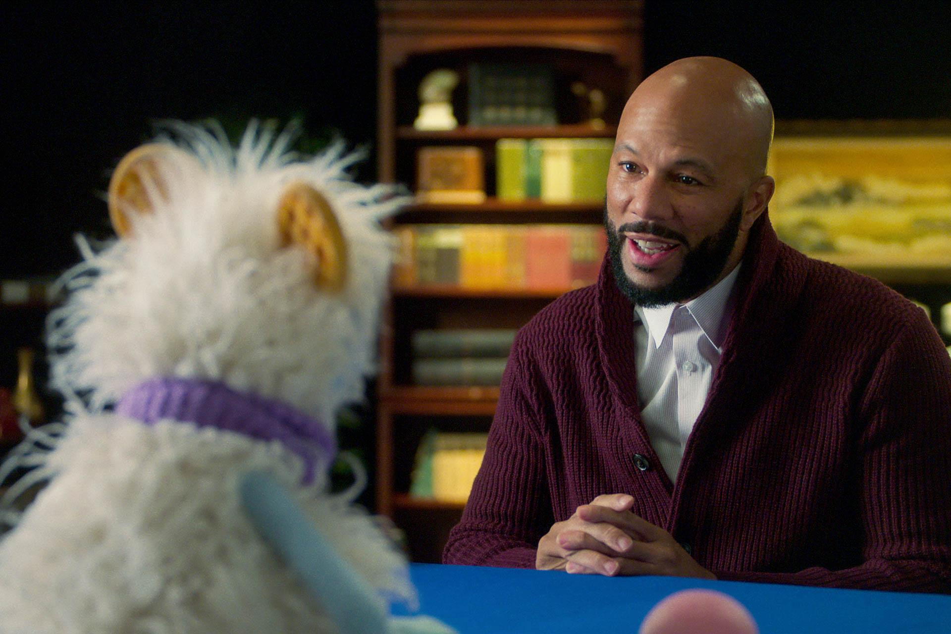 WAFFLES and COMMON as MARIO WINSTON RUTHERFORD
