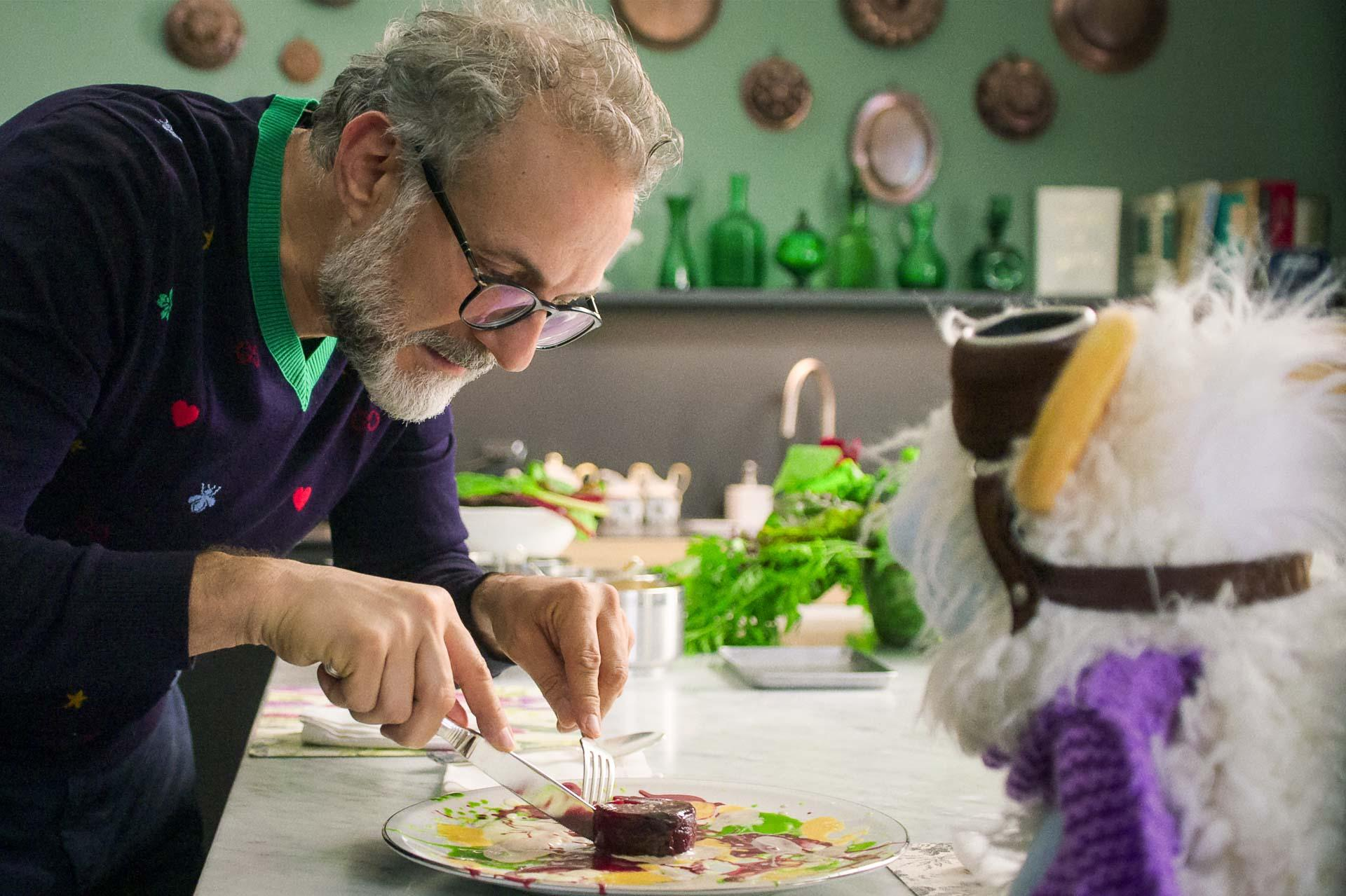 MASSIMO BOTTURA and WAFFLES in episode 105
