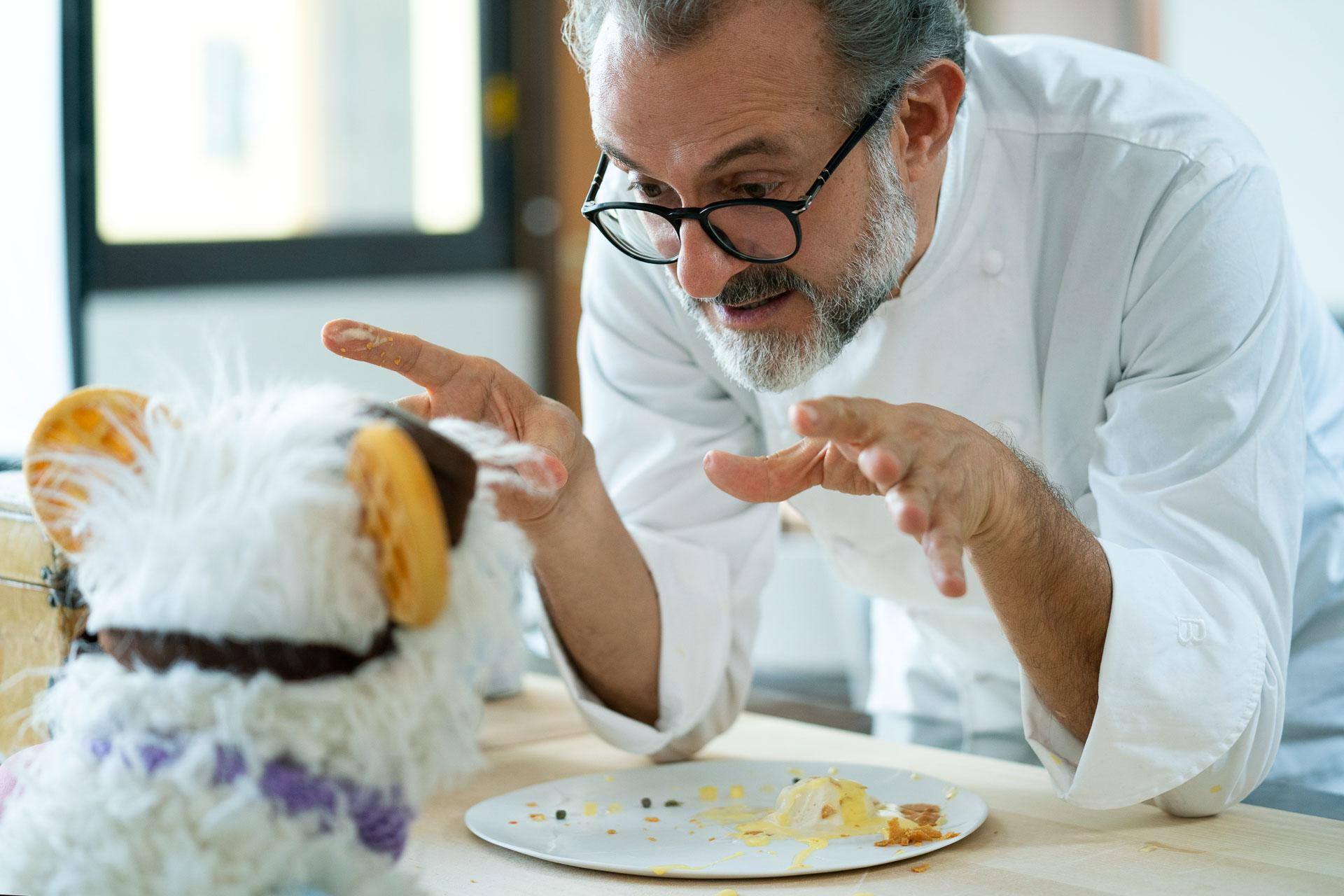 WAFFLES and MASSIMO BOTTURA in episode 106