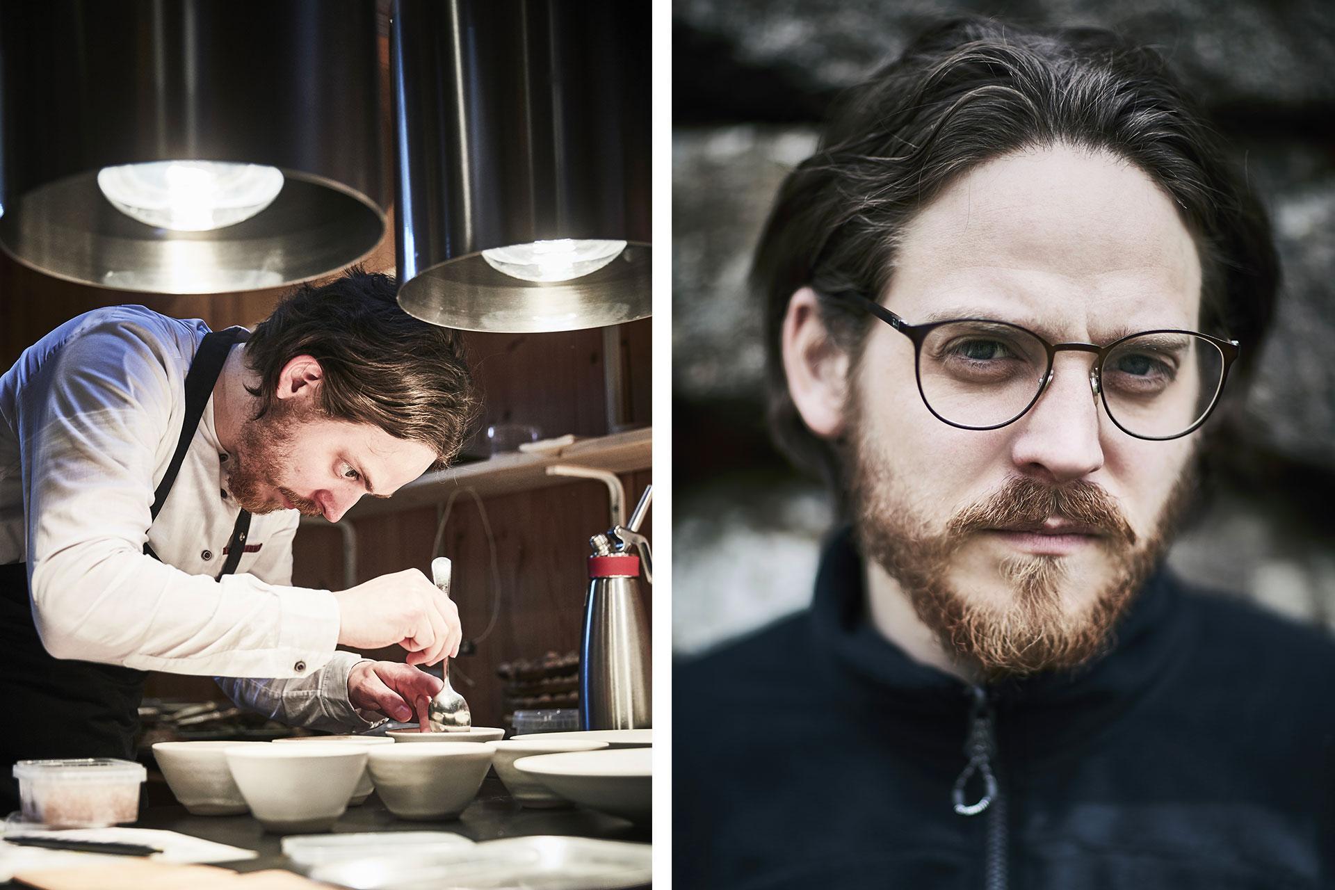 Chef Poul Andrias Ziska